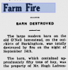 Albert McClement fire coverage Buckingham Post 24 Sep 1948 (1)