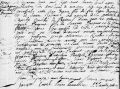 Depoca/Paquet marriage record 1738